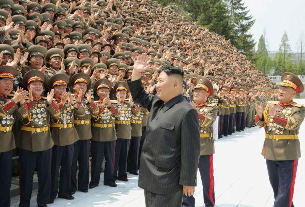Korea Utara Bersumpah Bangun Kekuatan Militer 'Tak Terkalahkan'