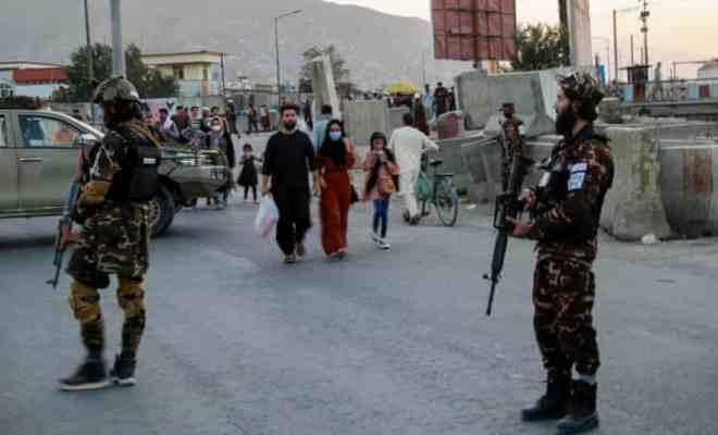 Ledakan Bom di Kabul, Lima Orang Tewas