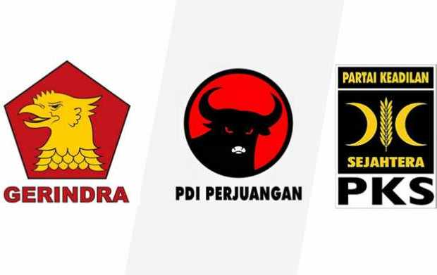 Survei SMRC: Elektabilitas Gerindra-PDIP Turun, PKS Justru Naik