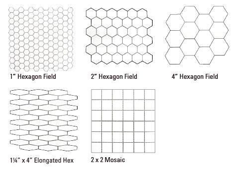 hex mosaics