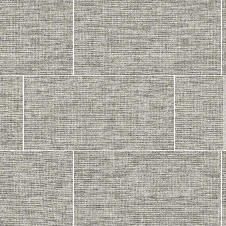ktile hopsack matte grey 12x24 matte