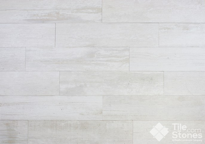 StonePeak Crate Series Colonial White Tile look like wood Porcelain Tile