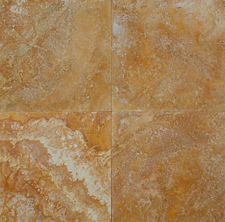 golden sienna 24x24 honed filled travertine tile