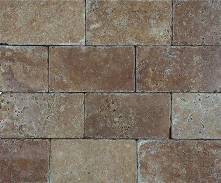 noce premium brick travertine 3x6 1473