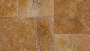 Golden Sienna Travertine Tile Brushed, Tumbled