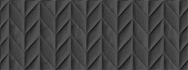 snow black chevron tile stone gallery