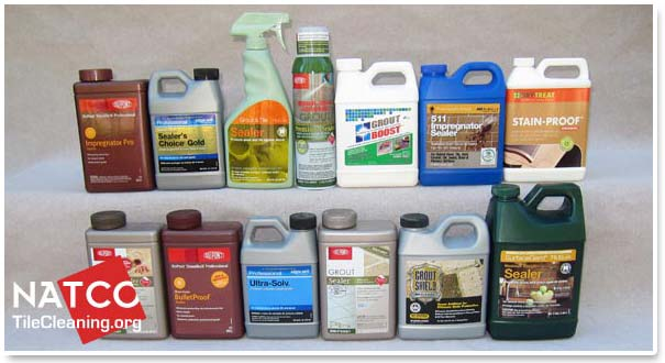 professional grout sealers