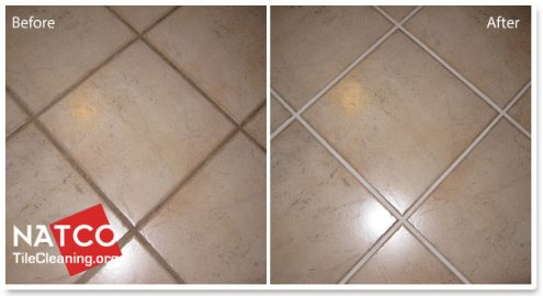 How to Paint Grout With A Grout Colorant painting grout