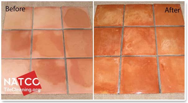 sealing saltillo tiles with topical