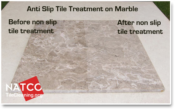 slip resistant tile floor treatments