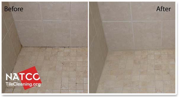 re caulk a tile shower
