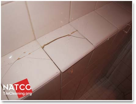 to replace cracked and broken shower tiles