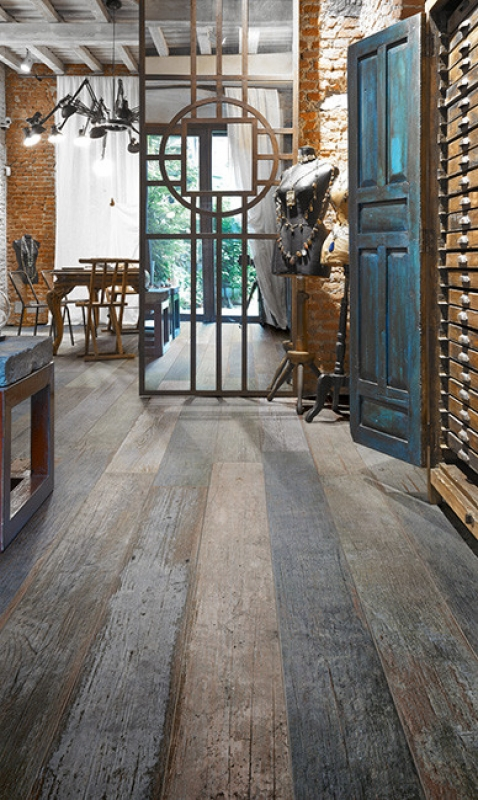 Blendart Wood Plank Tile Mix