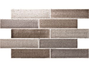Cambridge Grey Mix Brick Look Tile