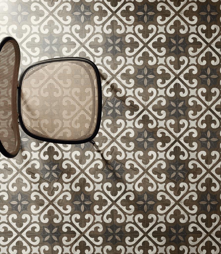Intarsi Glam Pattern Wall Tile