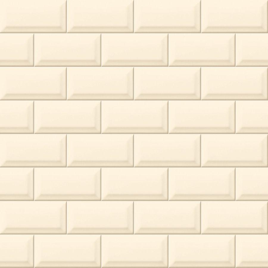 pvt bevelled cream wall tile