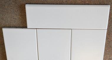 lau 4x10 matte white ice subway wall tile