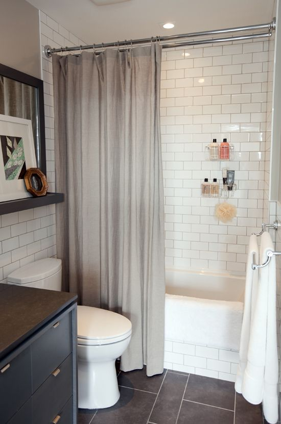 34 bathrooms with white subway tile ideas and pictures on Bathroom Ideas Subway Tile  id=37359