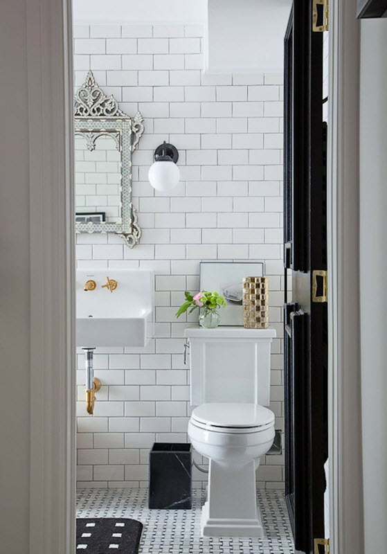 34 bathrooms with white subway tile ideas and pictures 2019 on Bathroom Ideas Subway Tile  id=19293