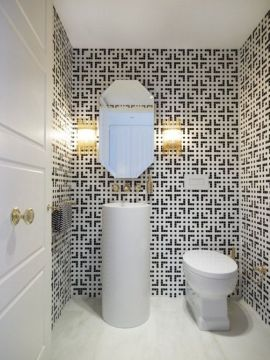 25 black and white mosaic bathroom tile ideas and pictures black and white mosaic bathroom tile 40   black and white mosaic bathroom tile 1   black and white mosaic bathroom tile 2