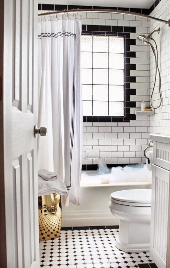 1920s Inspired Bathroom