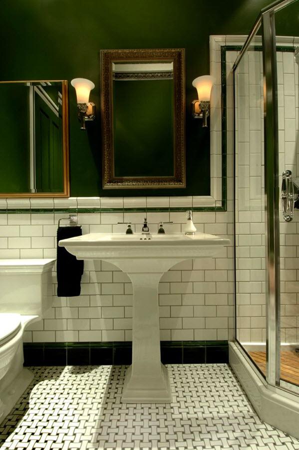 Yellow Gray Bathroom Decor