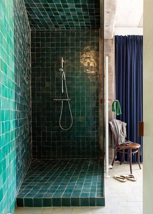 41 Aqua Blue Bathroom Tile Ideas And Pictures