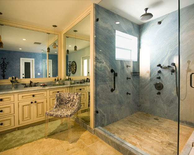 35 Blue Marble Bathroom Tiles Ideas And Pictures 2019