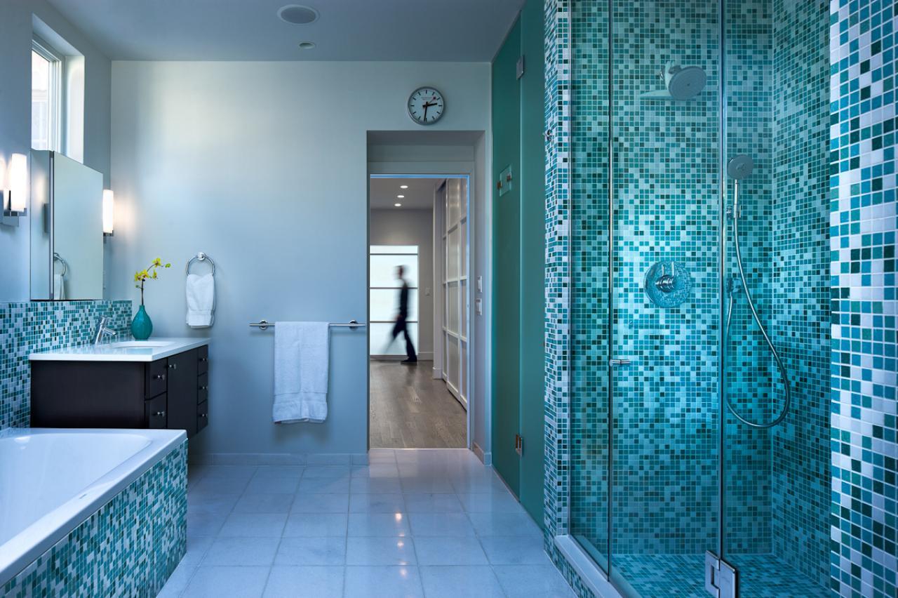 title | Vintage Blue Tile Bathroom Ideas