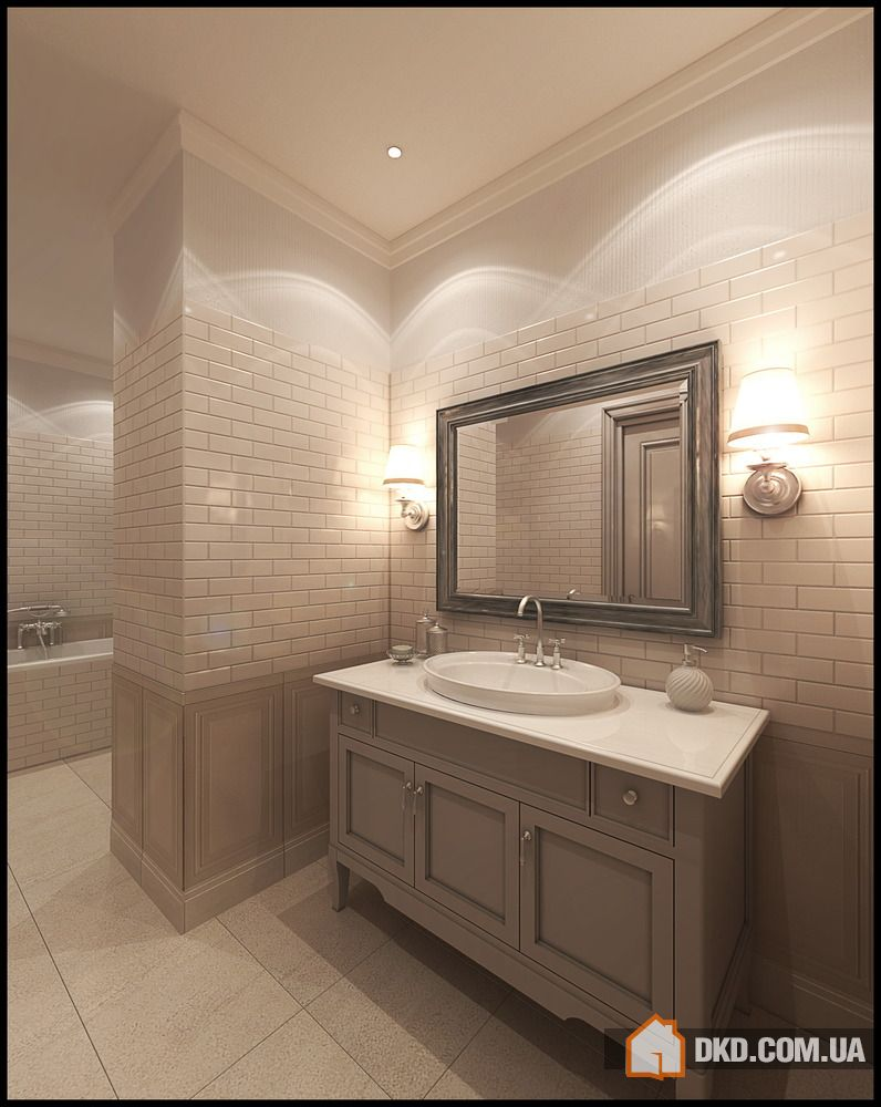 30 Ideas For Using Wainscoting Subway Tile In A Bathroom