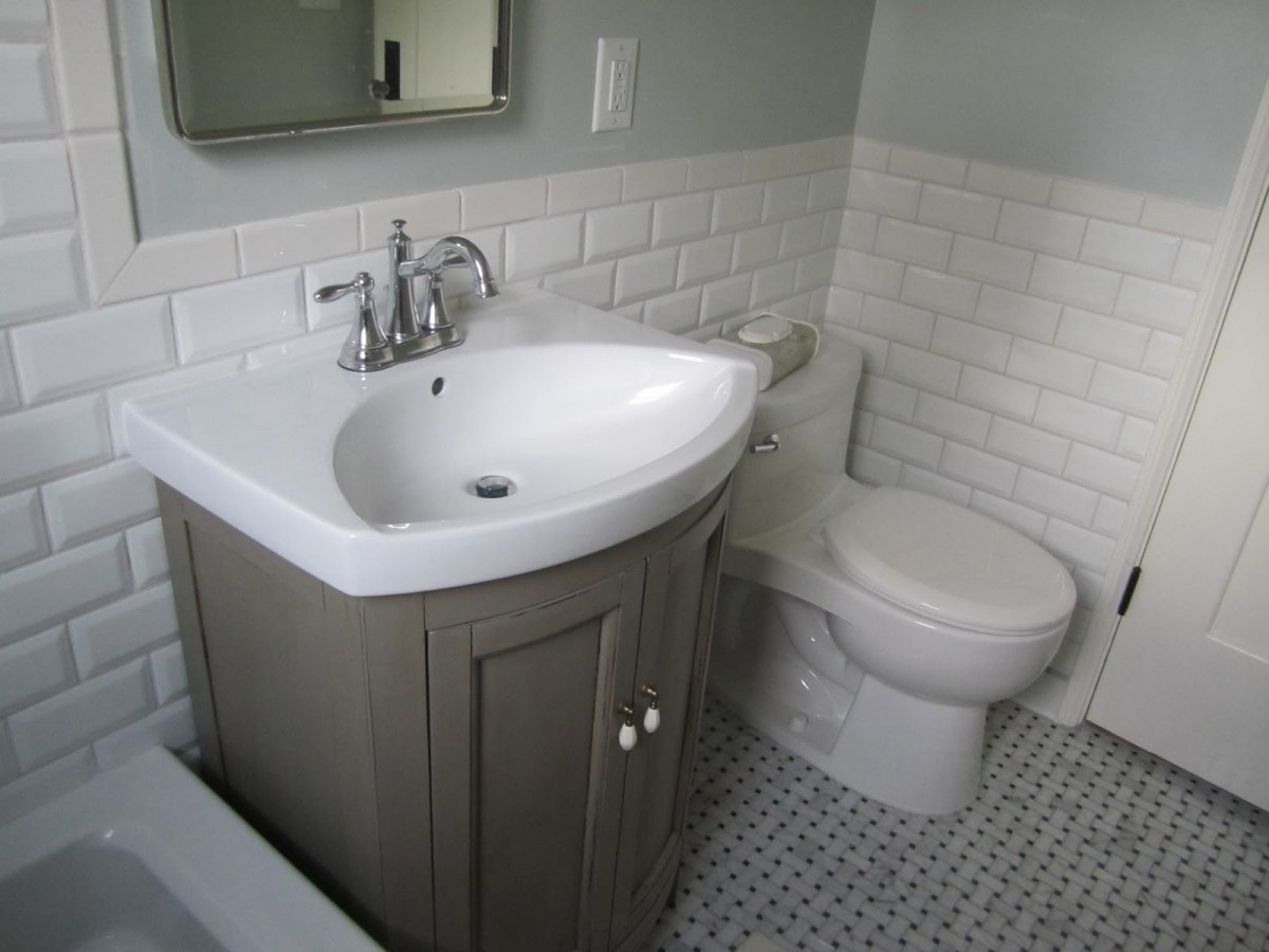 30 Pictures for Bathrooms with Subway Tiles on Bathroom Ideas Subway Tile  id=76933