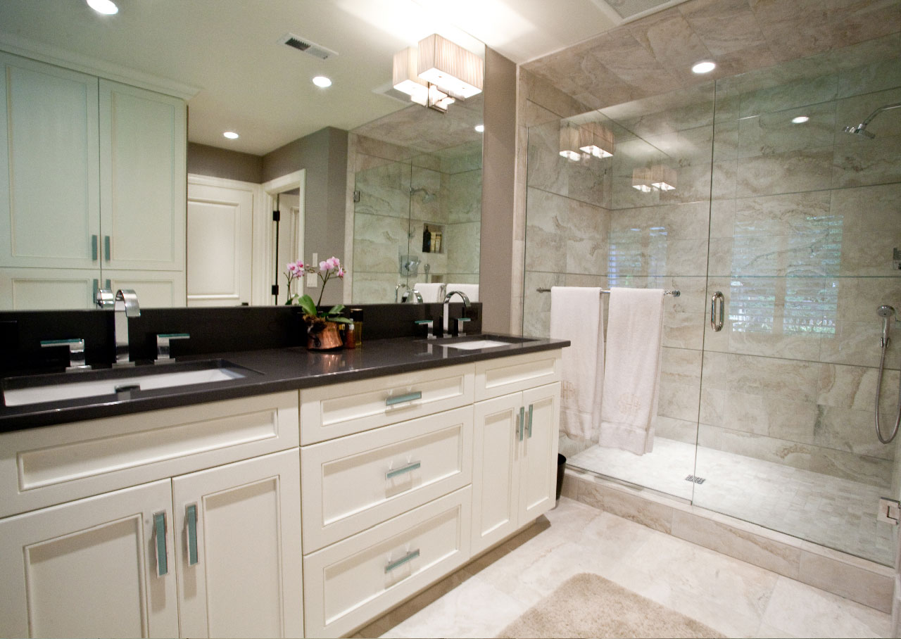 28 amazing pictures and ideas of wood plank tile in bathroom on Bathroom Ideas With Black Granite Countertops  id=22949