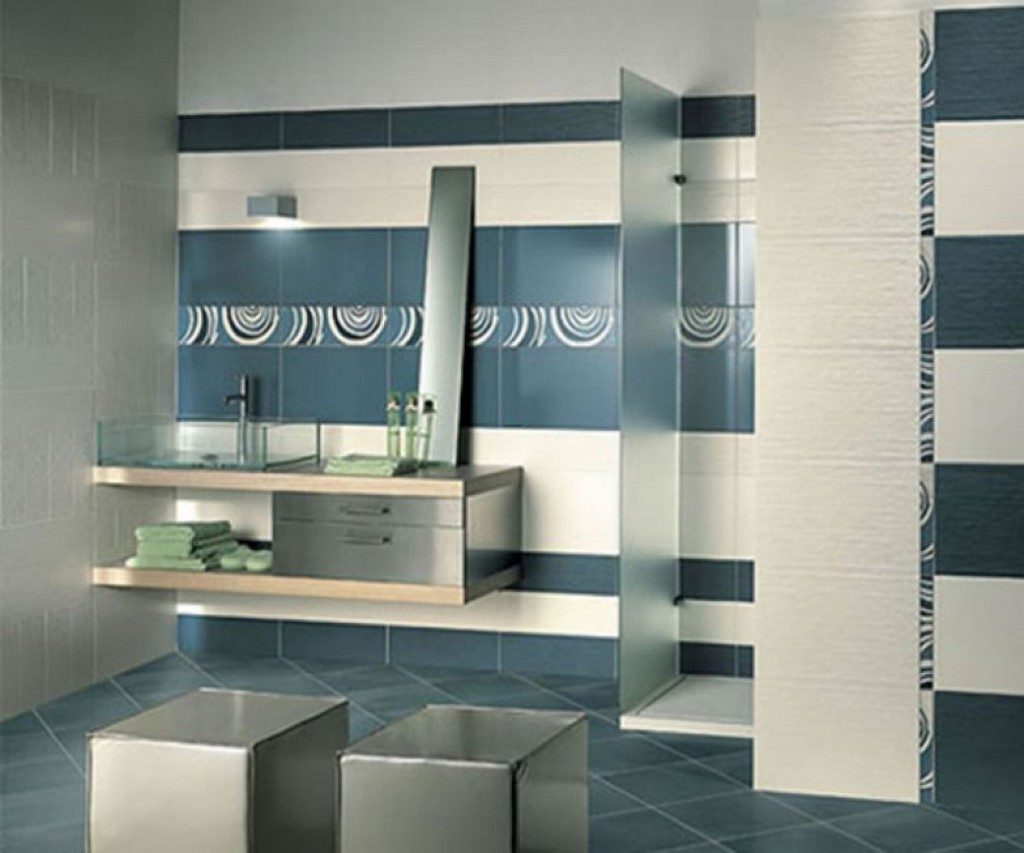 32 good ideas and pictures of modern bathroom tiles ...