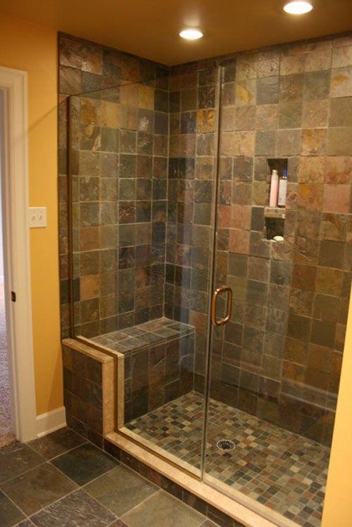30 Pictures Of Slate Tile In Bathroom Shower