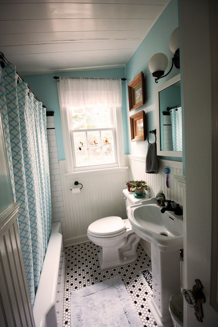 30 Pictures of small hexagon bathroom tile designs 2019 on Small Space Small Bathroom Tiles Design  id=15655