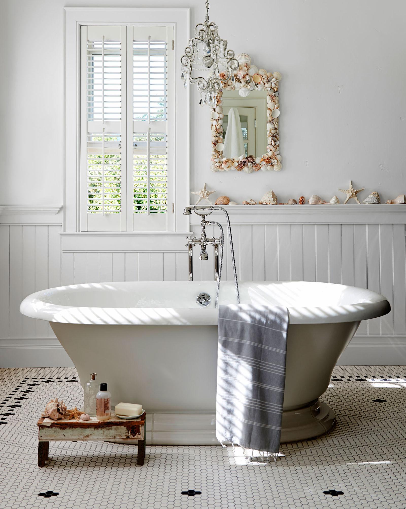 30 great pictures and ideas classic bathroom tile design ... on Farmhouse Tile Bathroom Floor  id=13891