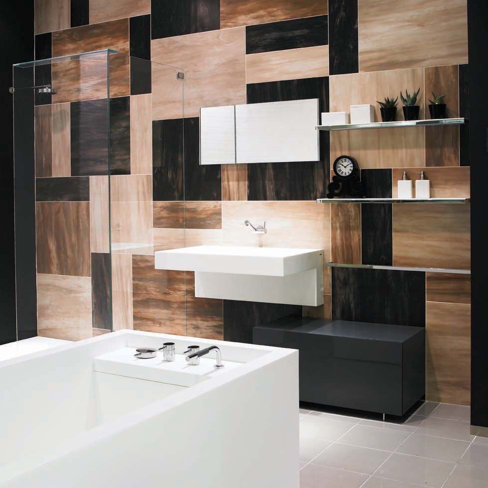25 great ideas and pictures cool bathroom tile designs ideas on Amazing Small Bathrooms  id=32095