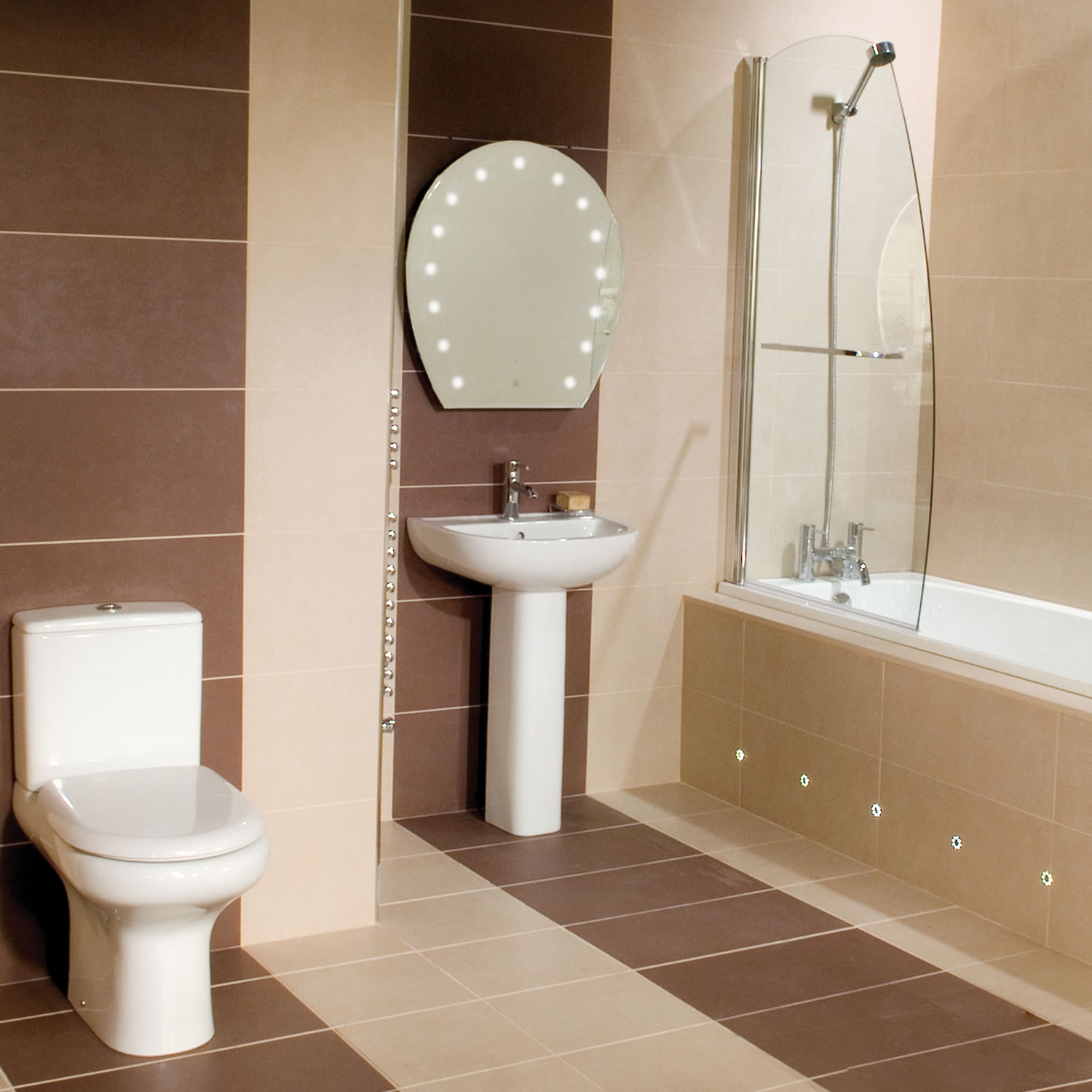 30 wonderful ideas and photos of most popular bathroom ... on Bathroom Designs For Small Spaces  id=39790