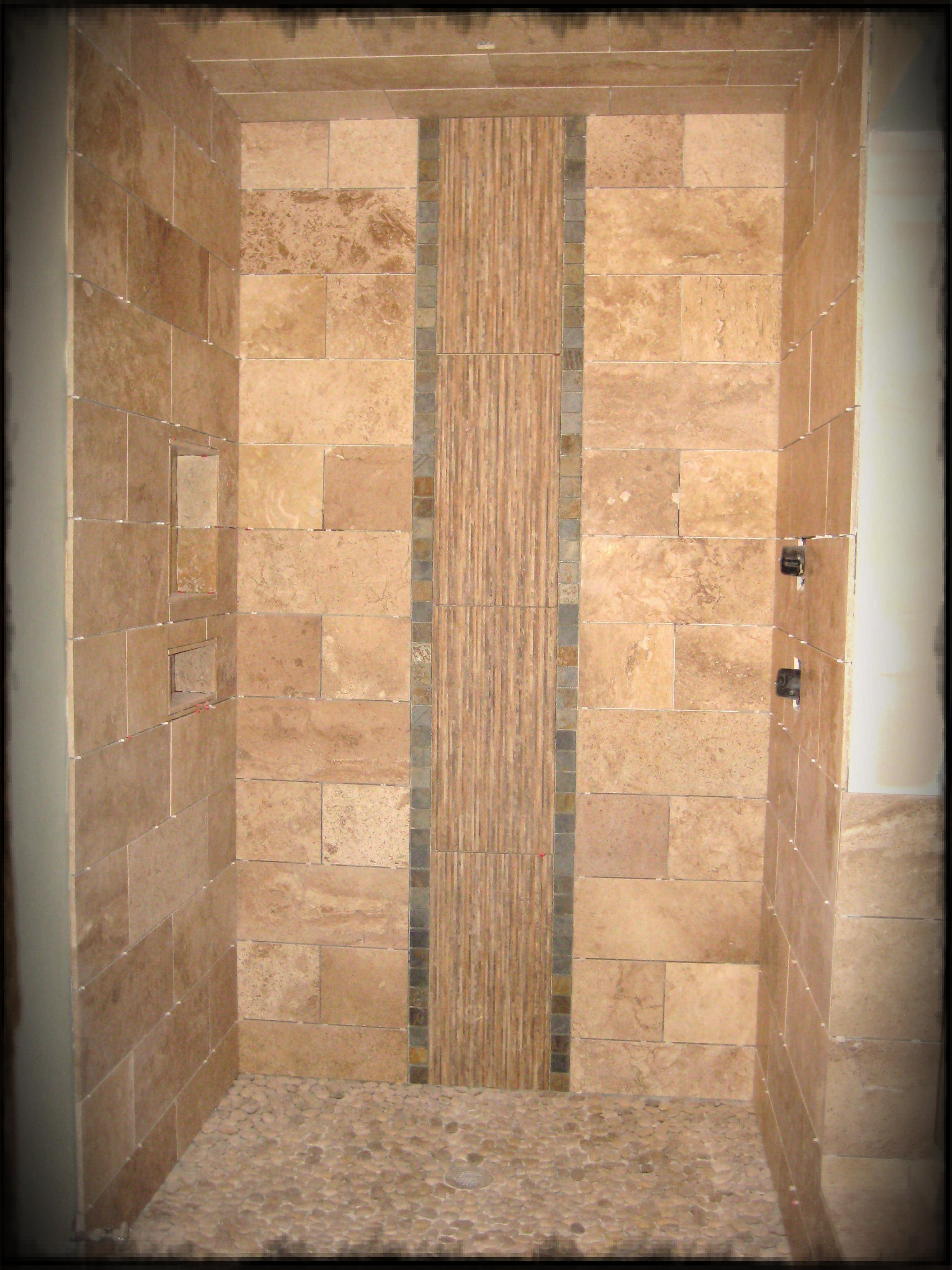 30 cool ideas and pictures custom shower tile designs on Bathroom Tile Pattern Design  id=48006