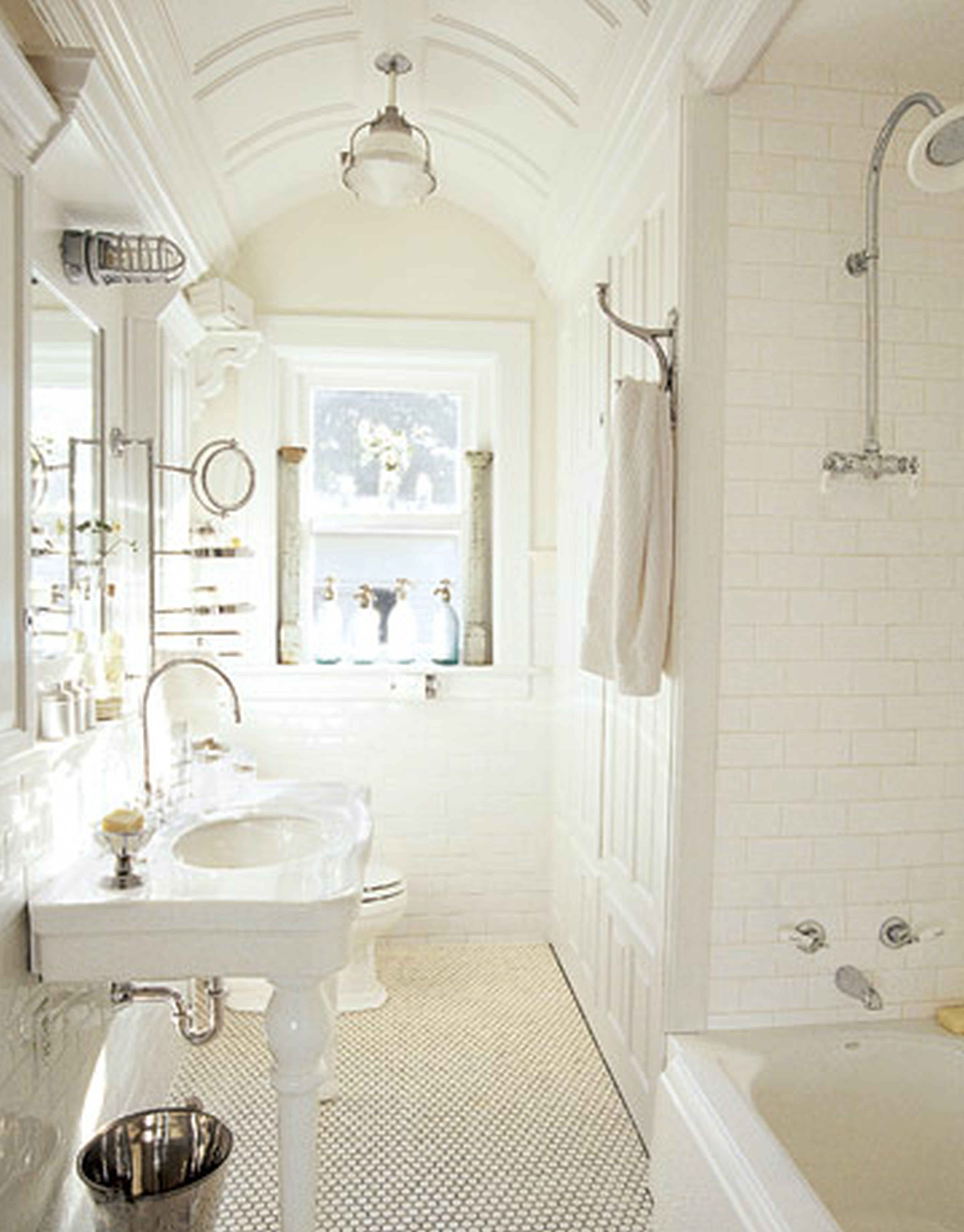 30 great ideas and pictures for bathroom tile gallery ... on Floral Tile Bathroom Ideas  id=61110