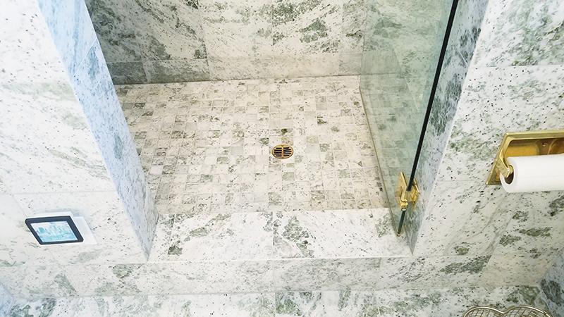 marble moisture discoloration don t