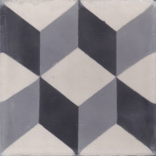 collection 20x20 cm cement tiles by