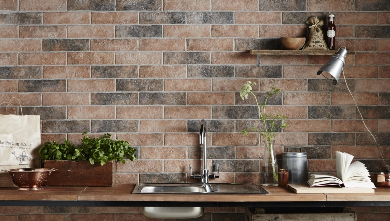 Kitchen Tiles Brick Style brick tiles: exposed brick without the mess! - tile mountain