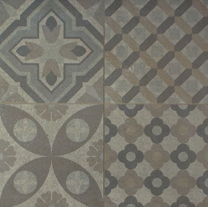 Skyros Delft Grey Wall and Floor Tile 438405