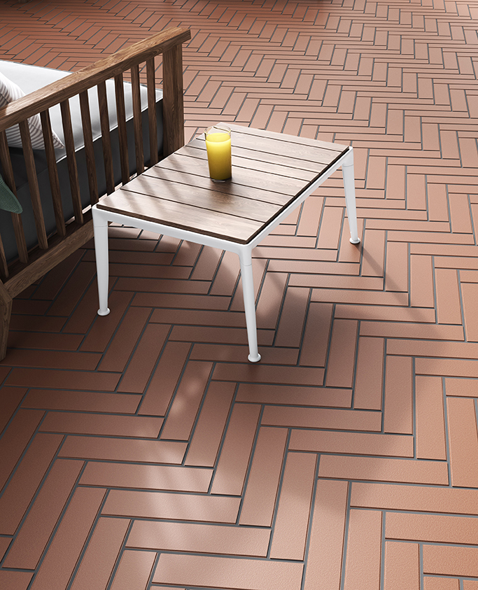 Moorland Heatherblend Brick Quarry Tiles