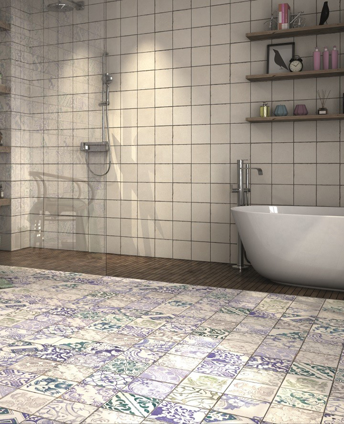 Sintra and Lisbon Bathroom Tiles from Tile Mountain