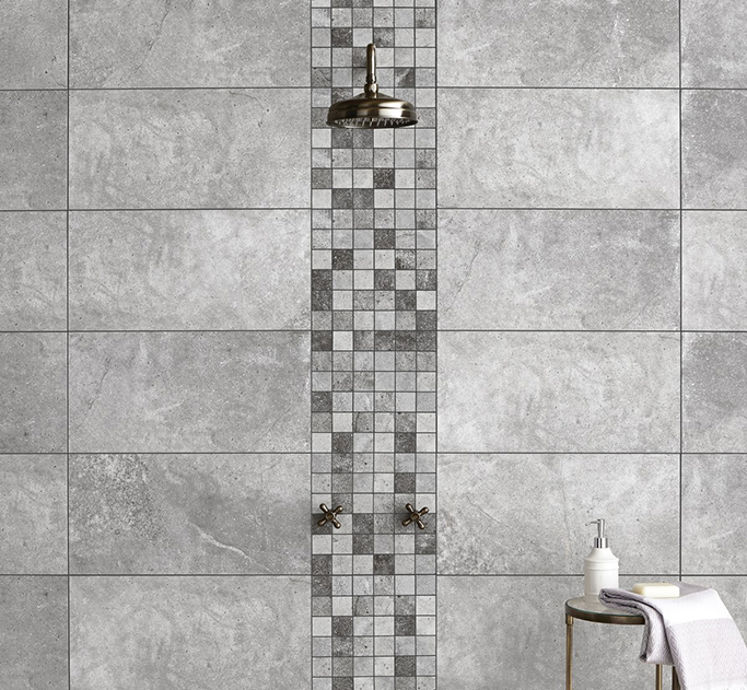 Toscana Silver Wall and Floor Tiles from Tile Mountain