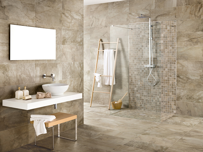 Bengal Beige Mosaic Tiles from Tile Mountain
