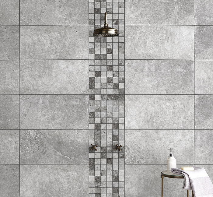 Toscana Mixed Mosaic Tiles from Tile Mountain