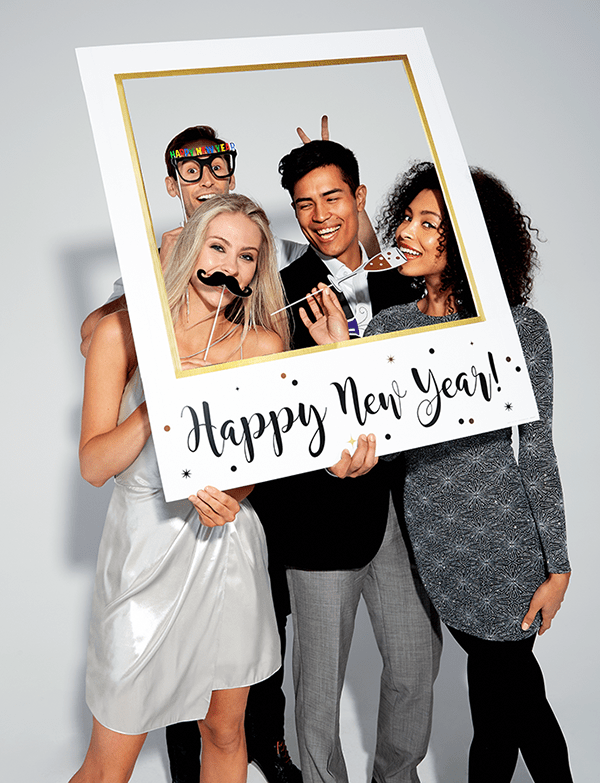 New Year Photo Booth